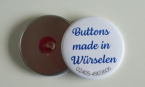Buttons Kühlschrank